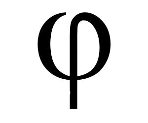 ϕ PHI ∞ POTENTIAL ϕ